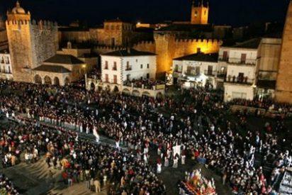 Procesiónes Miércoles Santo 2015 en Cáceres