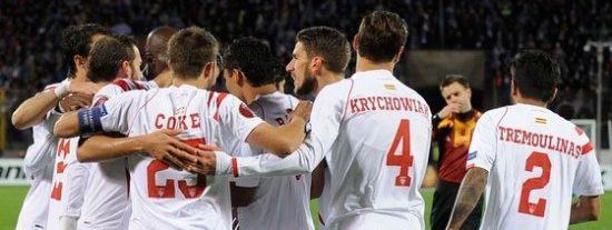 Un gol de Gameiro clasifica al Sevilla para semifinales de la Europa League (2-2)