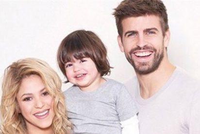 Shakira y Piqué acuden al tenis con su hijo Milan