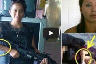 Las atroces fotos de la sicaria descuartizada que aterrorizaba México junto a otras dos 'flacas'