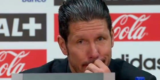 """Simeone no hace autocrítica: """"Hasta la expulsión de Arda teníamos el partido donde queríamos"""""""