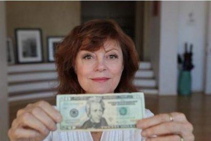 """Susan Sarandon: """"Quiero ver a una mujer en el billete de 20 dólares"""""""