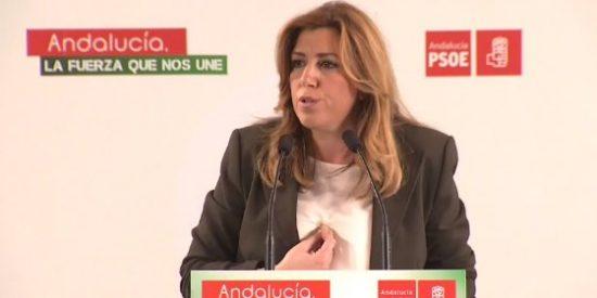 Susana Díaz, sin apoyo del resto de grupos a una semana de la investidura