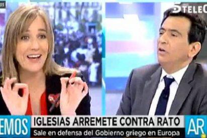 """Arcadi Espada se chotea de Tania Sánchez: """"Con esa lengua de madera que utilizas no se entera nadie, hablas y no dices nada"""""""