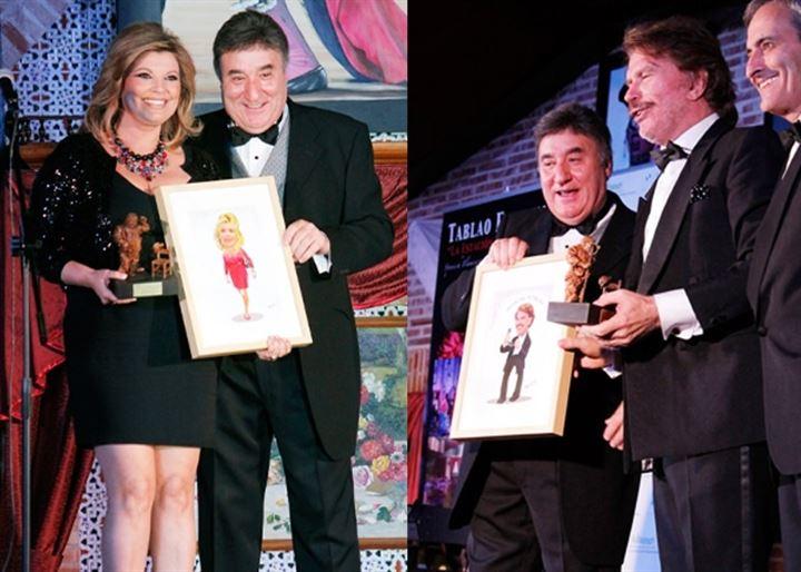Terelu Campos y Edmundo Arrocet, los grandes galardonados en los Premios Sancho Panza