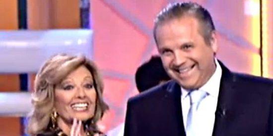 Antonio Miguel Carmona se arranca por Dean Martin y a bailar en Telecinco