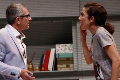 Toni Acosta e Iñaki Miramón juntos en 'De mutuo desacuerdo'
