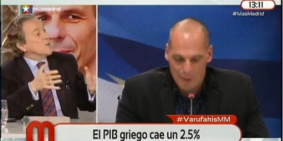 "Hermann Tertsch: ""Varufakis se ha quedado para entretener a Julia Otero y a Évole"""