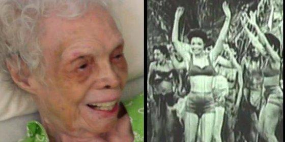 [Vídeo] La anciana de 102 años que ve por primera vez cómo bailaba de moza