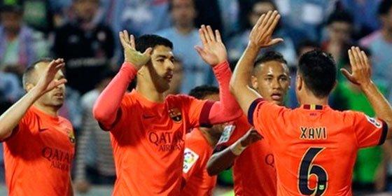 El Barcelona aprueba raspado en Balaídos consiguiendo un raquítico 0-1