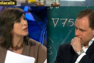 """Daniel Lacalle deja sin palabras a la diputada Yolanda Díaz (IU): """"Que me digas 'ultraliberal' es como si te llamo 'ultracomunista', una tontería"""""""