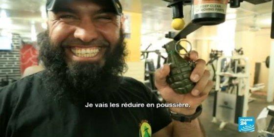 El 'Rambo iraquí' que promete machacar a los yihadistas es padre del ángel de la muerte