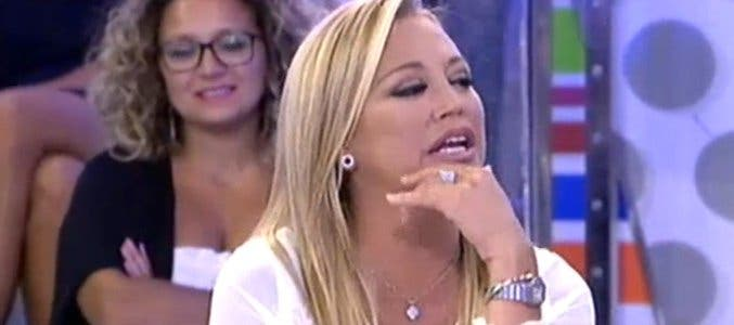 El dudoso polígrafo de Belén Esteban deja con el culo al aire a Kiko Rivera y provoca una gran bronca en el 'Deluxe'