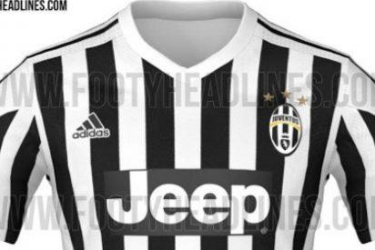 Así es la nueva camiseta de la Juventus