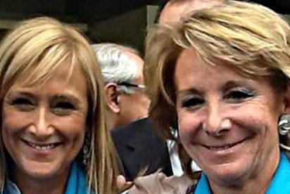 """Esperanza Aguirre: """"Podemos quiere trasladar a España el régimen bolivariano de Venezuela"""""""