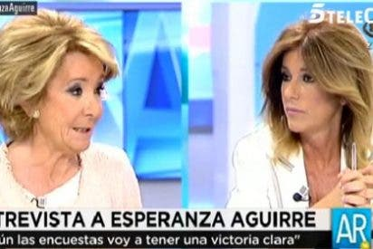 """Esperanza destroza a Palomera por atribuirle las palabras de Inda sobre cobros en B en el PP: """"¡Cuando vayas a hablar de algo, entérate!"""""""