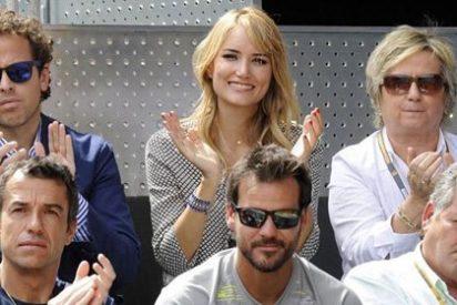 Alba Carrillo, el mejor apoyo de Feliciano en el Mutua Madrid Open