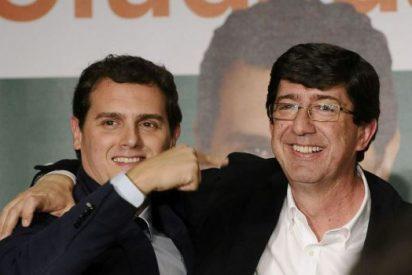 """Losantos acribilla a Juan Marín por acercarse a Susana Díaz: """"Rivera le dio tal soplamocos que tuvo que rectificar"""""""
