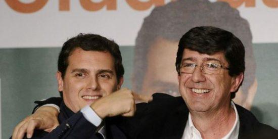 """Ciudadanos anuncia """"no y no"""" a las dos votaciones de investidura de la socialista Susana Díaz"""