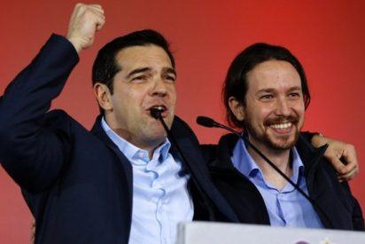 Pablo Iglesias ya no se ríe con Alexis Tsipras: Podemos deja tirados a los 'colegas' de Syriza