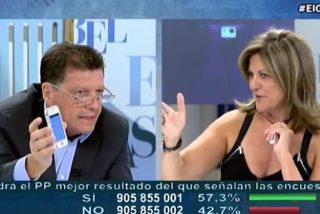 Alfonso Rojo sacude a la trolera Trujillo, por hacer de altavoz de la manipulación de Escolar sobre David Jiménez