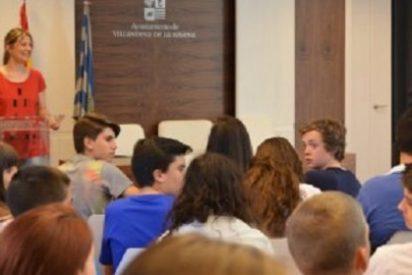 Alumnos holandeses visitan Villanueva de la Serena