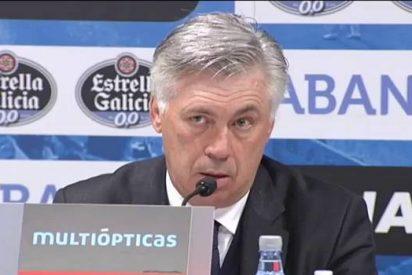 """Carlo Ancelotti: """"El 2-1 con la Juve nos deja contentos porque tenemos confianza de remontar"""""""