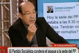 """Expósito sobre el silencio ante la agresión a militantes del PP: """"Cuando fue lo de Blanquerna, hubo portadas vomitando"""""""
