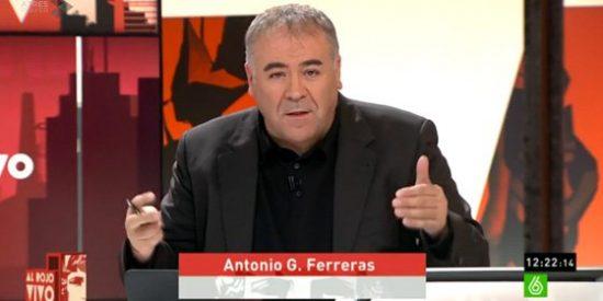 Antonio García Ferreras estalla en directo y pone a caldo al presidente de RTVE