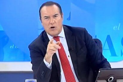 """Antonio Jiménez deja retratado al fotógrafo de Reuters que colaboró en el escrache a Rita Barberá: """"Este señor manipula noticias"""""""