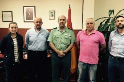 El nuevo Jefe de la Comandancia de la Guardia Civil en Badajoz abre sus puertas a AUGC