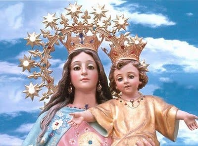 Los salesianos celebran la novena a María Auxiliadora