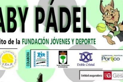 El Circuito Baby Pádel se celebra este fin de semana en Almendralejo