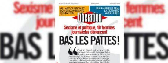 """Periodistas francesas denuncian el acoso sexual de los políticos: """"¡Quietas las manos!"""""""