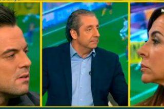 """Un Pedrerol """"paternalista"""" defiende a Nacho Peña contra Carme Barceló: """"Vienes con el discurso aprendido desde el AVE"""""""