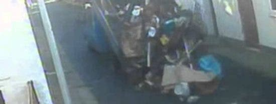 [Vídeo] Así trabajaba este basurero tan sinvergüenza al que han condenado a prisión