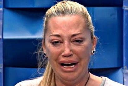 "Belén Esteban rompe a llorar para librarse de su última metedura de pata: ""¿He hecho todo mal?"""