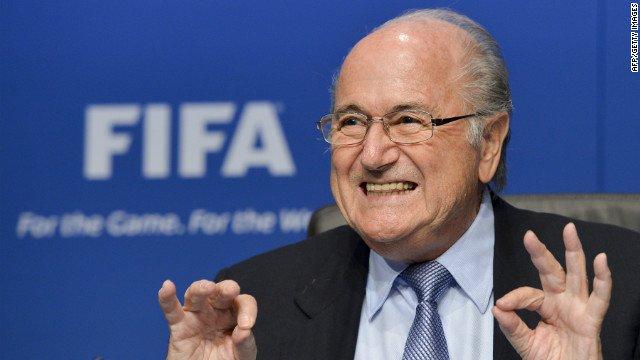 Joseph Blatter, reelegido presidente de la FIFA para un quinto mandato