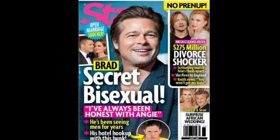 """El encuentro secreto entre Brad Pitt y un actor porno gay en un hotel: """"Lo miró, y le dio mil dólares"""""""