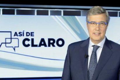 Buruaga pincha con 'Así de Claro', un programa soporífero que agrava el hundimiento de TVE