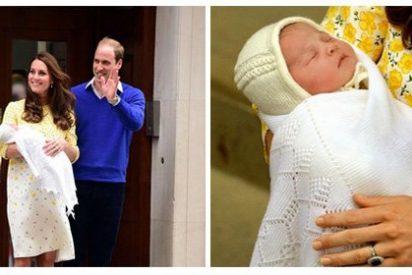 Los Duques de Cambridge dan la bienvenida a su hija
