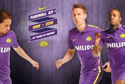 El PSV sorprende con el llamativo color de su nueva camiseta