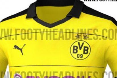 El Dortmund sorprende con la camiseta de la próxima temporada
