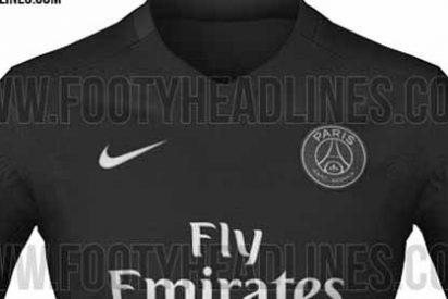 La seca camiseta del PSG