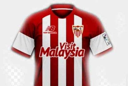 El Sevilla estrenará camiseta en la final de la Europa League