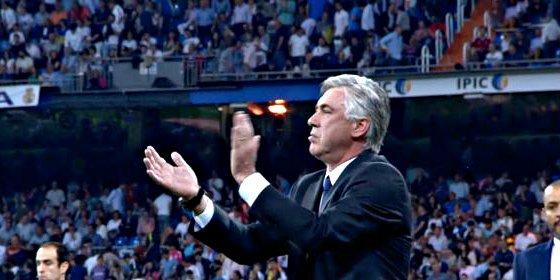 Dos partidos de sanción a Ancelotti por aplaudir al árbitro Clos al finalizar el partido frente al Valencia (2-2)