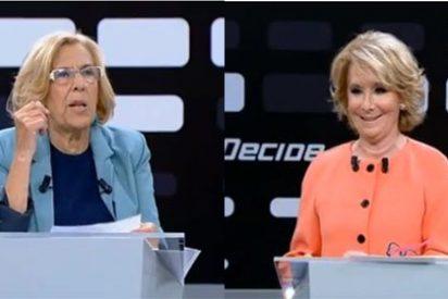 """Esperanza Aguirre a Manuela Carmena: """"¿Por qué dice usted que los etarras han sufrido mucho?"""""""