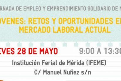 Mérida acoje la I Jornada de Empleo y Emprendimiento Solidario