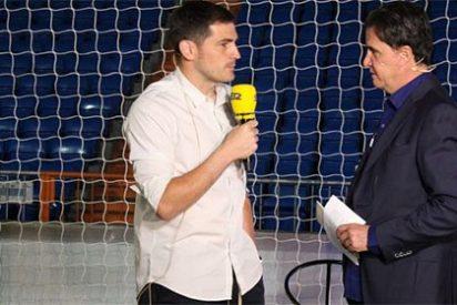 """Casillas a De la Morena: """"¿Topo? Tengo relación con los periodistas, pero que sea un topo...bendito mote me ha tocado"""""""