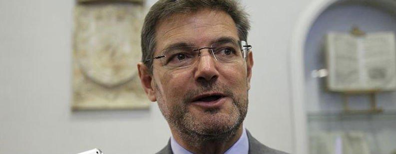 """Rafael Catalá: """"Recordar una sentencia pública no parece que pueda ser considerado un delito de injurias"""""""